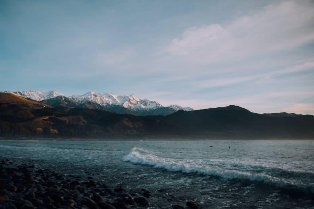 קאיקורה בחורף